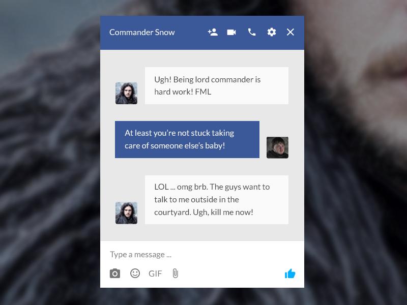 Facebook Message redesign