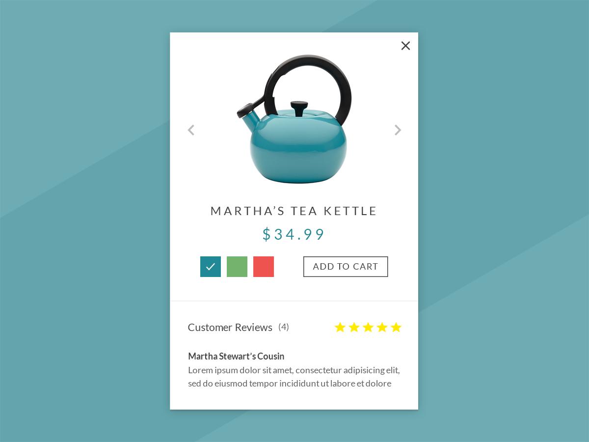 Martha's Tea Kettle